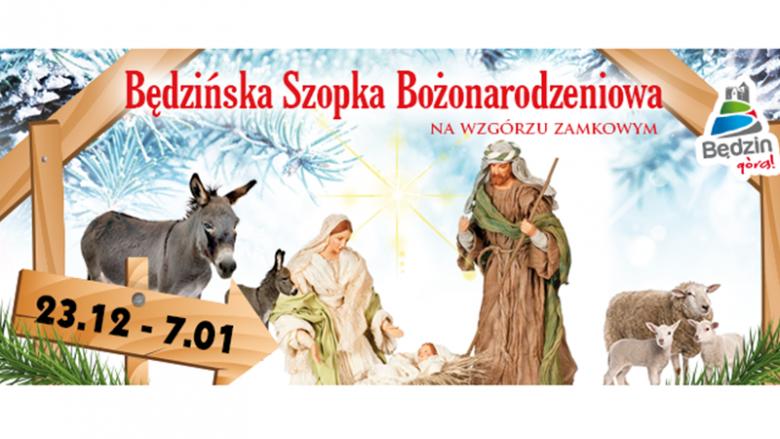 Żywa szopka w Będzinie będzie czynna od 23 grudnia do 7 stycznia (fot. mat. prasowe)