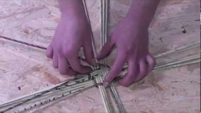 Embedded thumbnail for Papierowa wiklina - krok po kroku