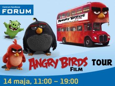 Angry Birds pojawią się w Centrum Handlowym Forum w Gliwicach (fot. mat. CH Forum)