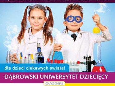 Dąbrowski Uniwersytet Dziecięcy zaprasza do siebie dzieci w wieku od 6 do 12 lat (fot. materiały DUD)