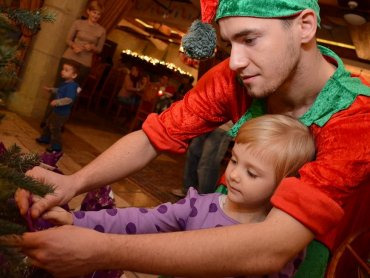 W Warowni Pszczyńskich Rycerzy dzieci zrobią świąteczne dekoracje i wezmą udział w licznych zabawach (fot. mat. organizatora)