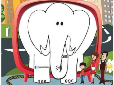 """""""Proszę słonia"""" po rekonstrukcji cyfrowej można oglądać m.in. w bytomskim Beceku (fot. mat. organizatora)"""