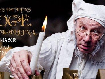 """""""Scrooge. Opowieść wigilijna"""" to adaptacja znanego opowiadania Charlesa Dickensa (fot. mat. organizatora)"""