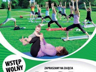 W każdą sobotę w Rosarium odbywać się będą zajęcia jogi (fot. mat. organizatora)