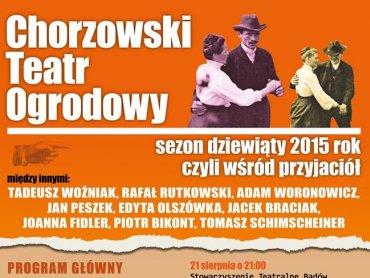 W sobotnie popołudnia na Chorzowski Teatr Ogrodowy warto wybrać się z dziećmi (fot. mat organizatora)