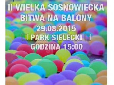 Bitwa na balony to świetny pomysł na orzeźwienie w upalne dni (fot. mat. organizatora)