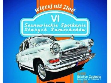 VI Sosnowieckie Spotkanie Starych Samochodów to zlot z mnóstwem atrakcji (fot. mat. organizatora)
