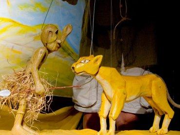 """""""Takie sobie bajeczki"""" to zabawne historie o zwierzętach (fot. mat. Teatr Gry i Ludzie)"""