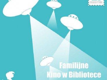 Tym razem w bibliotece obejrzycie zabawną i wzruszającą animację o przygodach kosmity (fot. mat. FB MBP Sosnowiec)