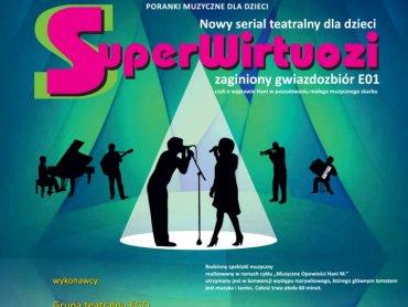 """""""SuperWirtuozi"""" to nowy cykl spektakli muzycznych w Bielskim Centrum Kultury (fot. mat. BCK)"""