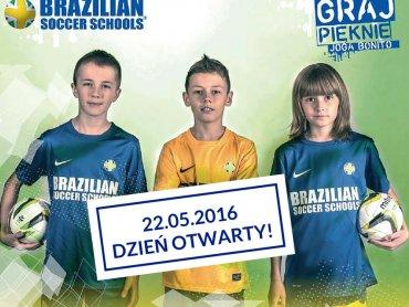 Dzień otwarty w Brasilian Soccer Schools to okazja by sprawdzić czy dzieciom spodobają się zajęcia sportowe (fot. mat. organizatora)