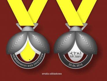Każdy młody uczestnik biegów otrzyma pamiątkowy medal (fot. mat. organizatora)
