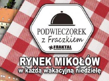 Podwieczorek z Fraczkiem to pyszne spotkania na mikołowskim rynku (fot. mat. FB Podwieczorek z Fraczkiem)