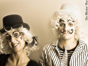 Figlarka i Figlarz to bohaterowie niedzielnego spektaklu w BLCRK (fot. FB BLCRK)