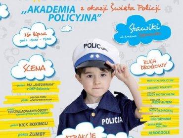 """""""Akademia policyjna"""" to festyn rodzinny pełen ciekawych pokazów, który odbędzie się 16 lipca (fot. mat. organizatora)"""