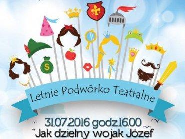 Podwórko Teatralne, dzięki współfinansowaniu przez miasto Sosnowiec, jest bezpłatne (fot. mat. Piaskownica Kulturalna)