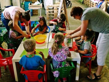 Na najbliższym BioBazarze dzieci będą mogły wziąć udział w warsztatach kulinarnych (fot. mat. FB BioBazar)