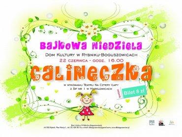 Calineczka dla dzieci i w wykonaniu dzieci (fot. materiały organizatora)