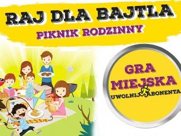 """""""Raj dla bajtla"""" to piknik rodzinny, który odbędzie się w Bytomiu 18 września (fot. mat. organizatora)"""