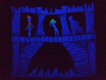 """""""Królowa"""" to rock-bajka, którą możecie oglądać w Teatrze Czarnego Tła (fot. mat. Teatr Czarnego Tła)"""