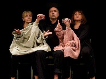"""""""Animacje"""" to spektakl, który swoją premierę miał 23 września 2016 roku (fot. Tomasz Zakrzewski/FB Ateneum)"""