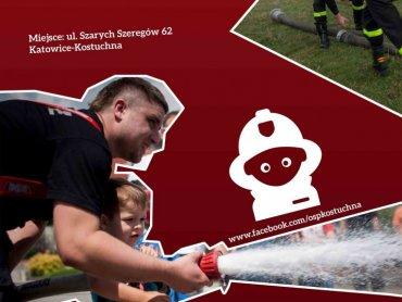 Dzień otwarty w OSP Kostuchna będzie wielką atrakcją dla dzieci, które marzą o zostaniu strażakiem (fot. mat. organizatora)