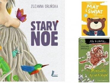 """Nagrodzona została książka Zuzanny Orlińskiej """"Stary Noe"""" (fot. mat. organizatora)"""