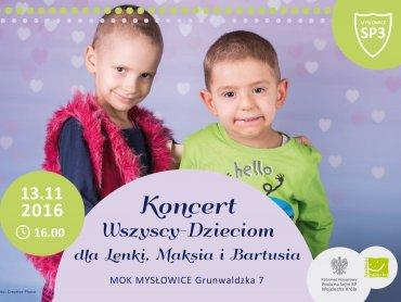 """Druga edycja """"Wszyscy - Dzieciom"""" odbędzie się 13 listopada (fot. mat. organizatora)"""