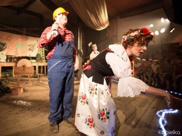 22 października będziecie mogli zobaczyć całkiem nowy spektakl Lufcika na korbkę (fot. mat. Lufcik na korbkę)