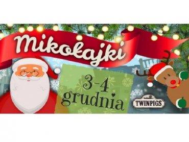 Mamy dla Was dwa rodzinne bilety na mikołajkową zabawę w Twinpigs (fot. mat. organizatora)