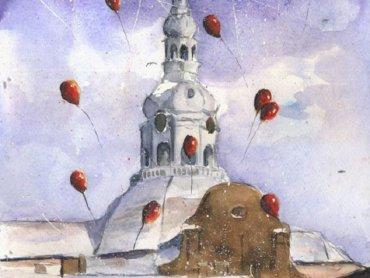 Jarmark na Nikiszu odbędzie się już po raz dziewiąty (fot. fragment obrazu Grzegorza Chudego)