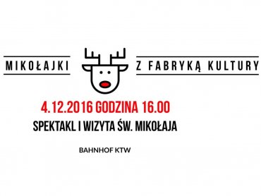 Mikołajki z Fabryką Kultury to zabawny spektakl i spotkanie z Mikołajem (fot. mat. organizatora)
