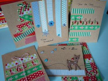 Świąteczne ozdoby i bożonarodzeniowe kartki wykonają dzieci na warsztatach w centrach handlowych Auchan (fot. foter.com)