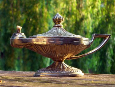 """""""Cudowną lampę Aladyna"""" możecie obejrzeć 15 października (fot. foter.com)"""