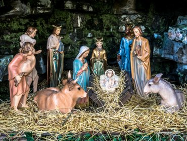 Szopka, opłatek, sianko, kolędy - o pochodzeniu świątecznych zwyczajów dowiecie sie na wystawie w Zamku Sieleckim (fot. foter.com)