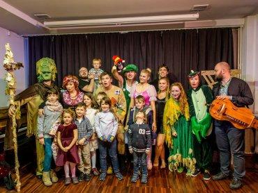 Udział w spektaklu i warsztatach, które odbędą się na scenie FORUM jest bezpłatny (fot. Michał Buksa)