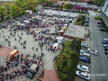 Szama na Placu to wiosenny zlot foodtrucków w Gliwicach (fot. FB Szama na Placu / Mosquidron)