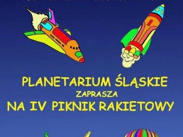 IV Piknik Rakietowy organizowany jest z okazji Międzynarodowego Dnia Lotnictwa i Kosmonautyki (fot. mat. organizatora)
