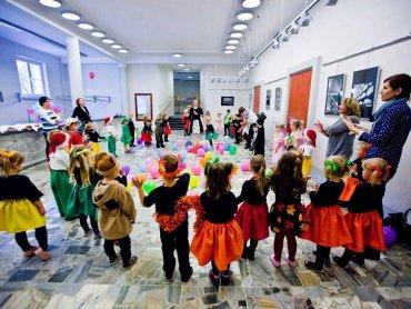 W Domu Kultury w Rybniku-Chwałowicach odbywają się zajęcia dla wszystkich grup wiekowych (fot. z arch. DK Chwałowice)