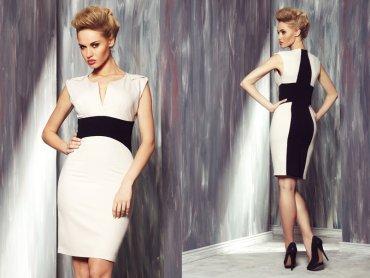"""Sukienkę """"Oriana"""" z najnowszej kolekcji firmy Ryłko można wygrać w naszym konkursie (fot. materiały Ryłko)"""