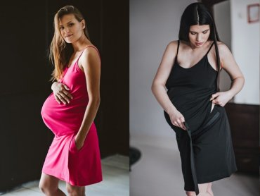 Komplety porodowe to nowość na polskim rynku. Za ich powstanie odpowiada marka granatOVO (fot. granatOVO)