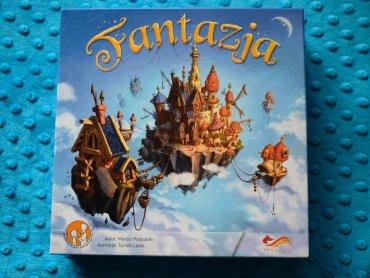 """""""Fantazja"""" to budowanie baśniowych krain od wydawnictwa FoxGames (fot. Ewelina Zielińska)"""