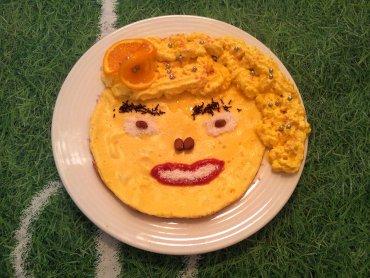 Tak podany omlet zachwyci każdego malucha (fot. A. Borowczyk)