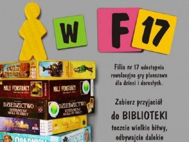 W Filii nr 17 katowickiej biblioteki możecie zagrać w gry planszowe zawsze w godzinach otwarcia placówki (fot. mat. MBP w Katowicach)