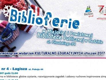 Bilbioferie to ciekawe zajęcia w Miejskiej Bibliotece Publicznej w Będzinie odbywające się w czasie ferii (fot. mat. organizatora)
