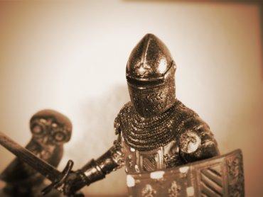 Zajęcia w Muzeum Górnośląskim wprowadzą dzieci w świat średniowiecznych rycerzy (fot. foter.com)