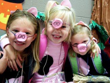 Bal karnawałowy organizowany przez Krąg Pokoleń dedykowany jest dzieciom w wielu szkolnym (fot. foter.com)