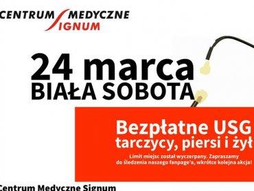 Biała sobota to świetna okazja do zadbania o swoje zdrowie (fot. mat. organizatora)