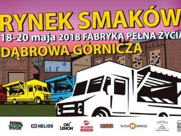 Food trucki w Fabryce - takiej imprezy w Dąbrowie jeszcze nie było (fot. mat. organizatora)