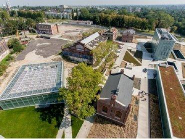 Teren Muzeum Śląskiego to miejsce ciekawych wydarzeń - również tych dla rodziców z dziećmi (fot. www.TVS.pl)
